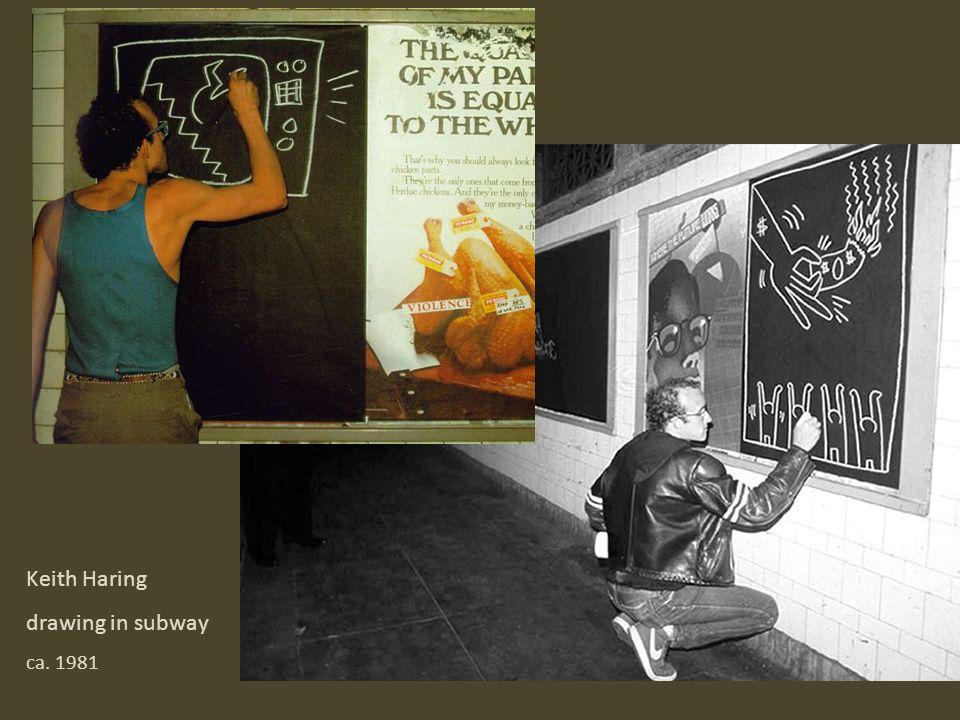 Keith Haring Harlem, NY 1986