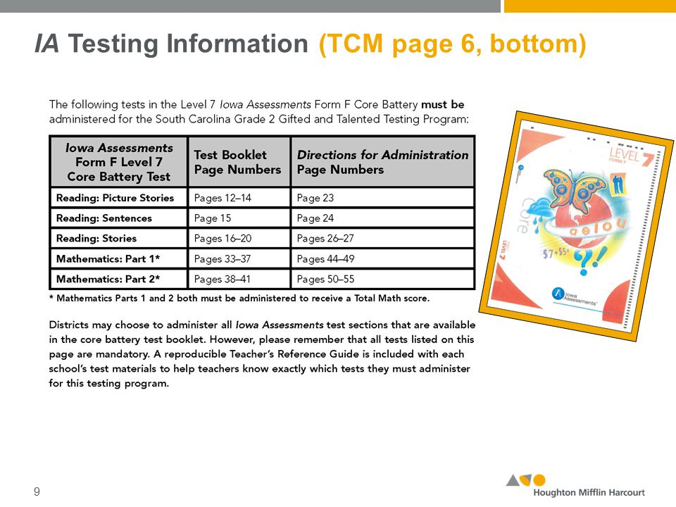 Grade/Class Identification Sheets (GIS) (TCM page 67 – Appendix E) 20 Included in each Building Package are two (2) blank Grade/Class Identification Sheets (GIS) for every twenty-two (22) students to be tested.