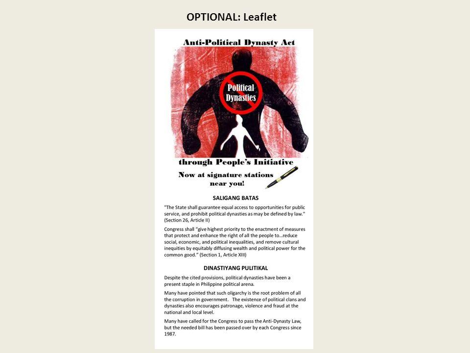 OPTIONAL: Leaflet