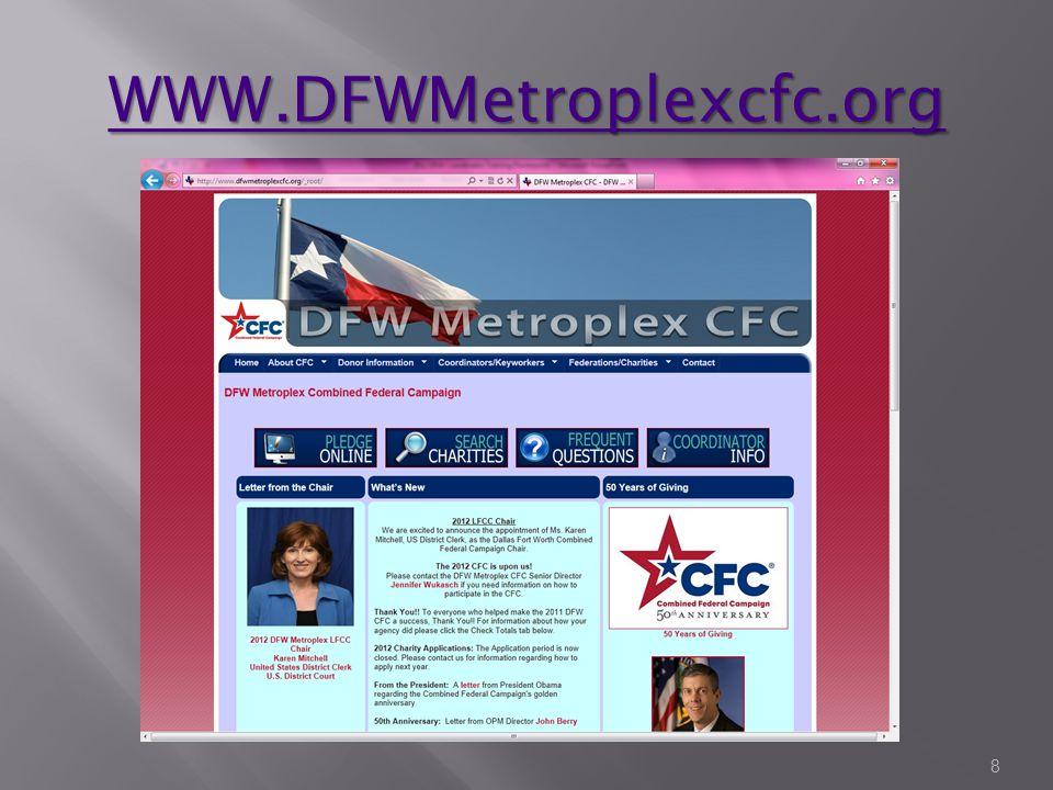 WWW.DFWMetroplexcfc.org 8