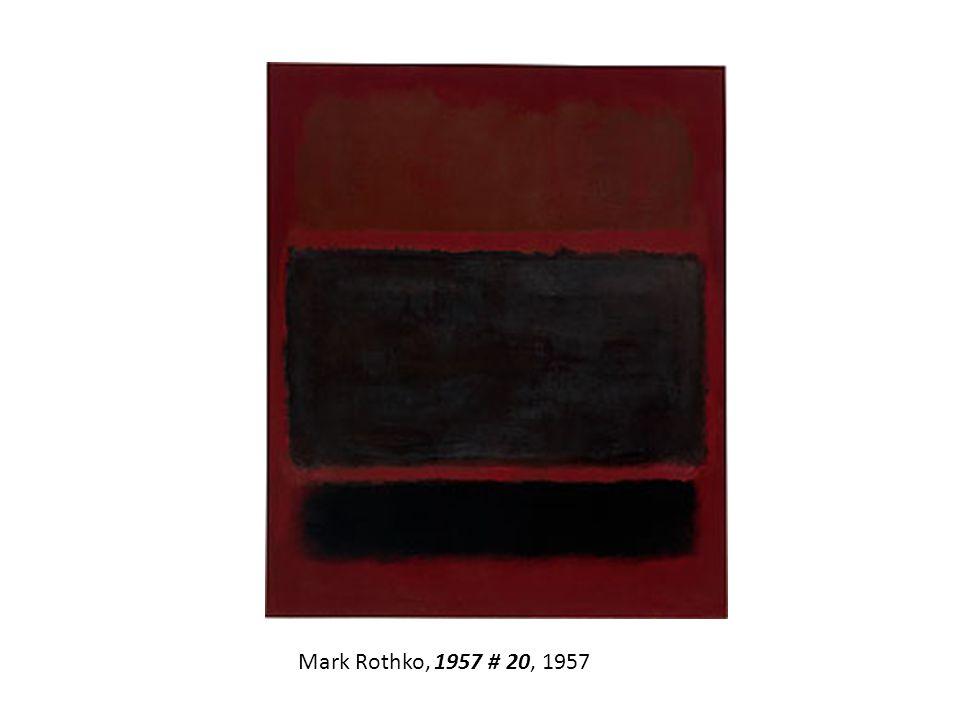 Mark Rothko, 1957 # 20, 1957