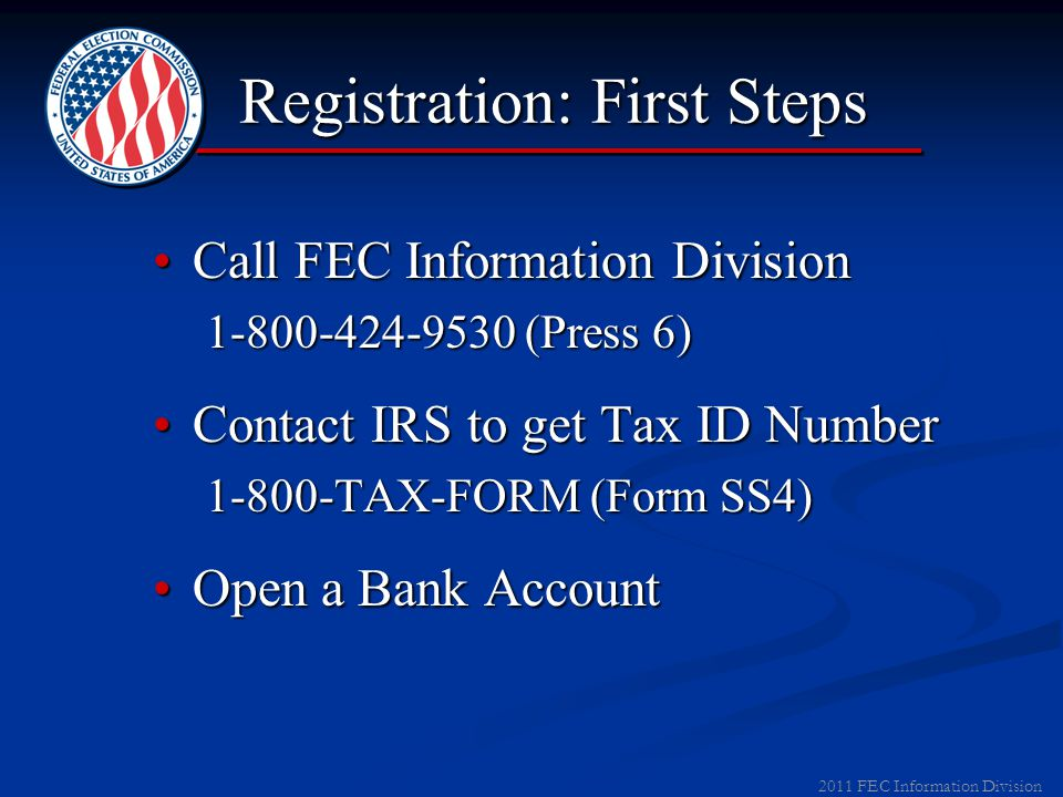 2011 FEC Information Division Campaign Finance Laws Basic Registration ThresholdsBasic Registration Thresholds ▼ Local Party Organizations Raises > $5,000 in ContributionsRaises > $5,000 in Contributions Spends > $5,000 on Exempt ActivitiesSpends > $5,000 on Exempt Activities ► Local Party Organizations