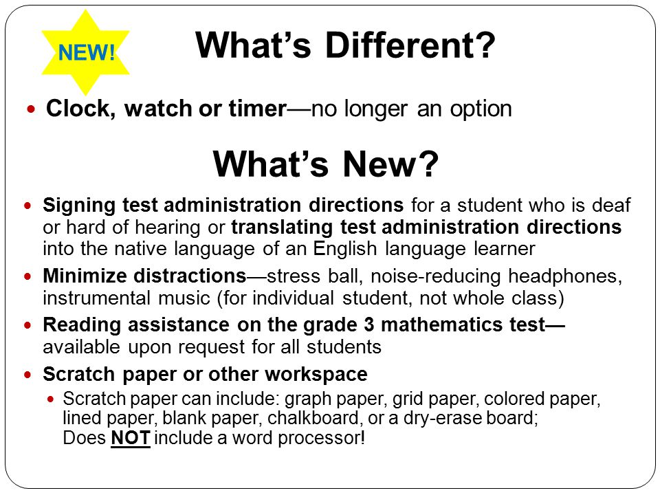 What's Different.Clock, watch or timer—no longer an option What's New.