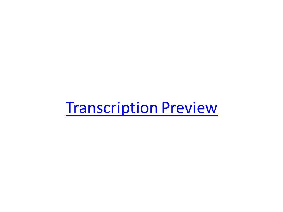 Transcription Preview