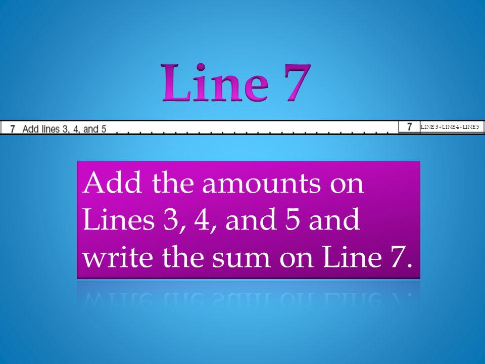 LINE 3+LINE 4+LINE 5