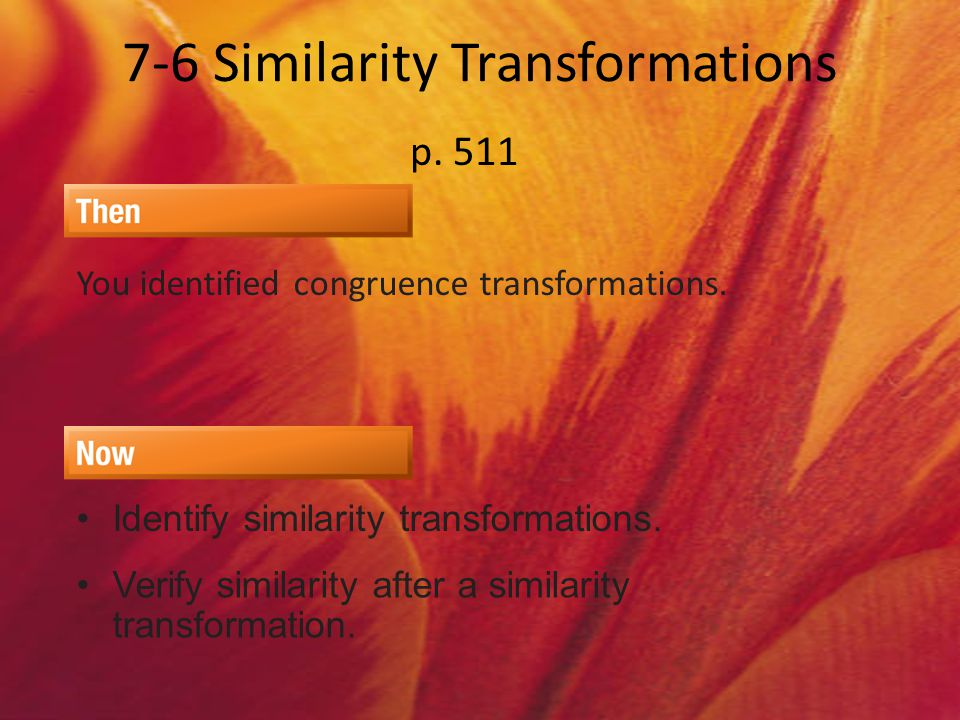 Definitions Transformation Transformation – an operation that maps an original figure (preimage) onto a new figure (image).