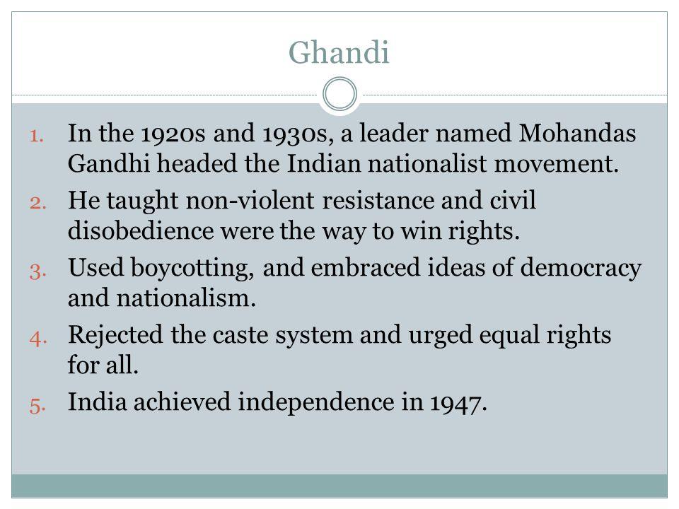 Ghandi 1.