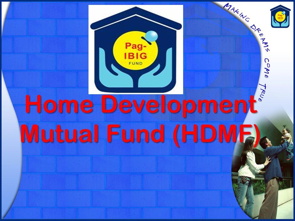Home Development Mutual Fund (HDMF)