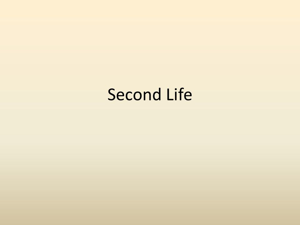 What is Second Life.Virtual World, where members can: – Socialize.