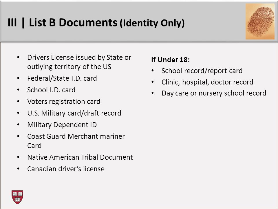 Drivers License issued by State or outlying territory of the US Federal/State I.D.