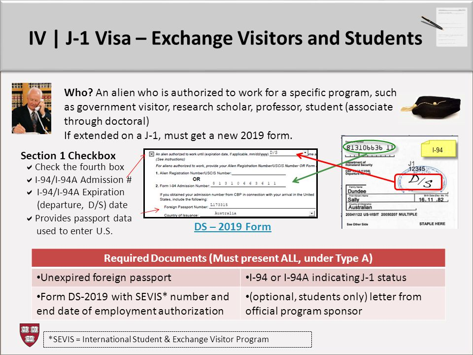 IV | J-1 Visa – Exchange Visitors and Students Who.