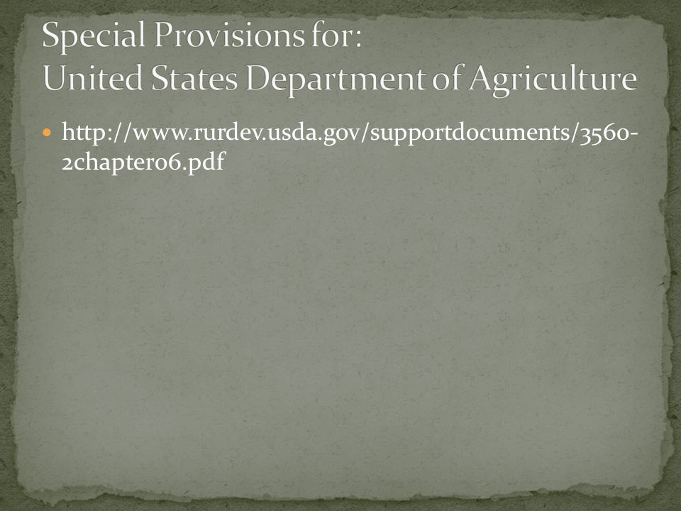 http://www.rurdev.usda.gov/supportdocuments/3560- 2chapter06.pdf
