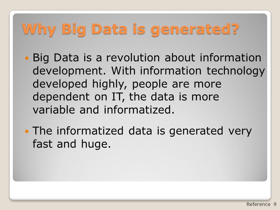 Reference Reference 1 Big Data 是什麼 .