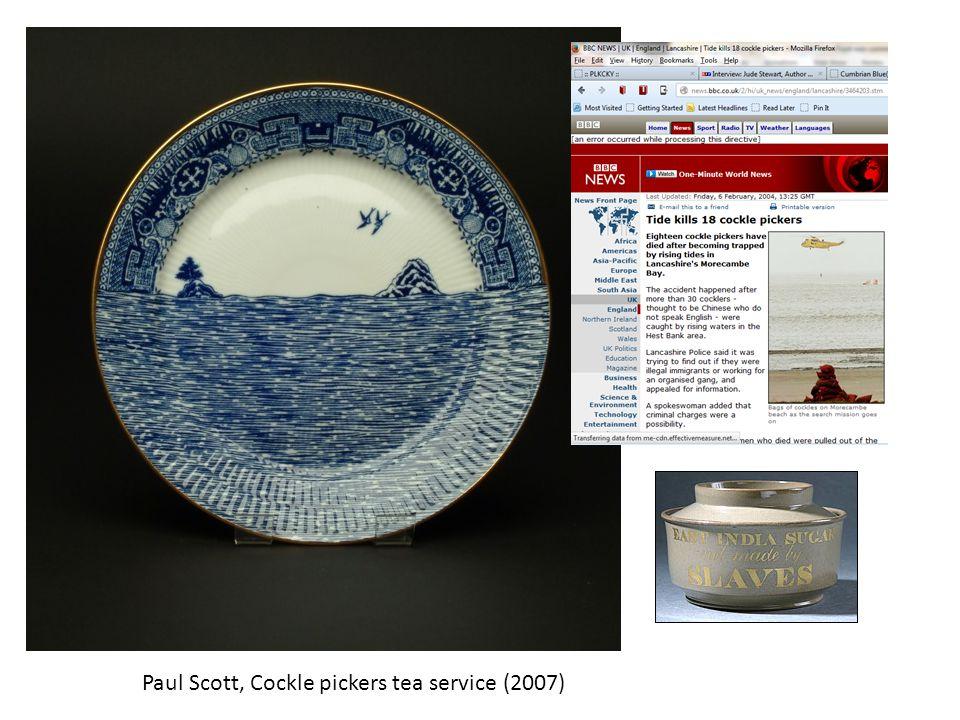 Paul Scott, Cockle pickers tea service (2007)