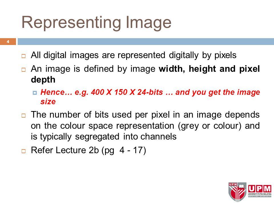 Reproducing Colour on Computer (cont)  Colour Palettes (cont)  Dithering 75