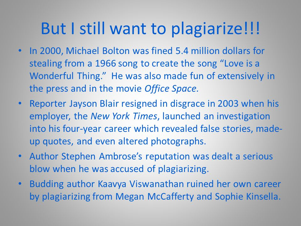 How to Avoid Plagiarism Write down all the necessary information about the sources you use.