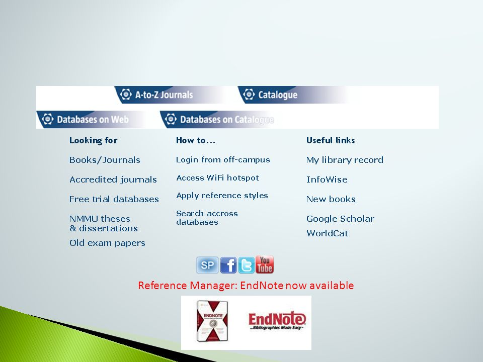 Reference Manager: EndNote now available
