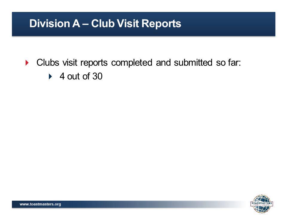 Division G, District 42 2014-2015 April Report Membership