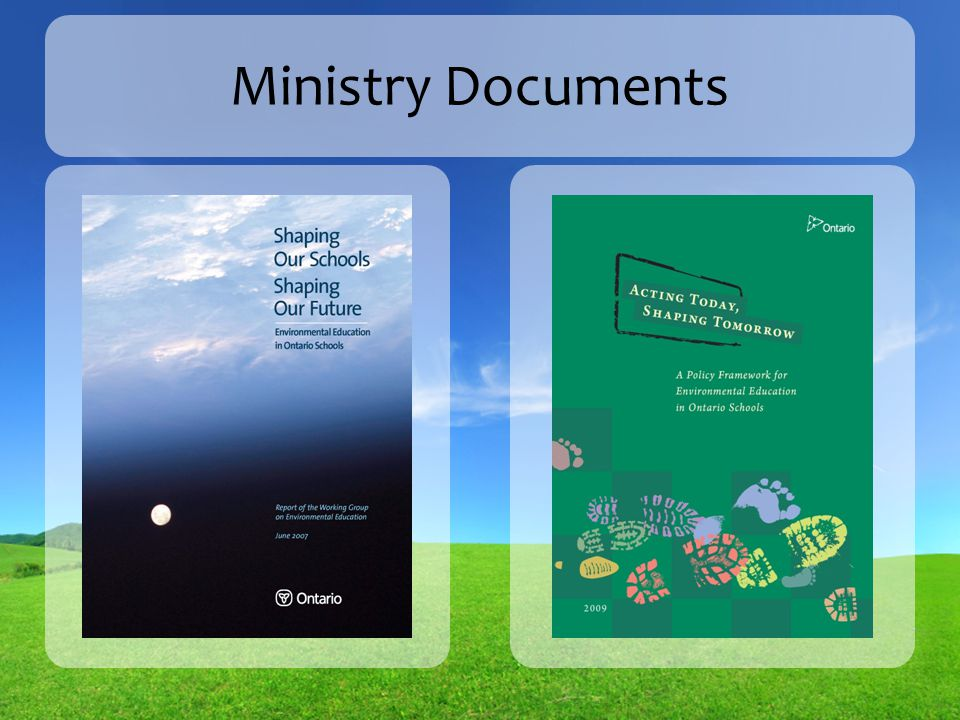 Ministry Documents