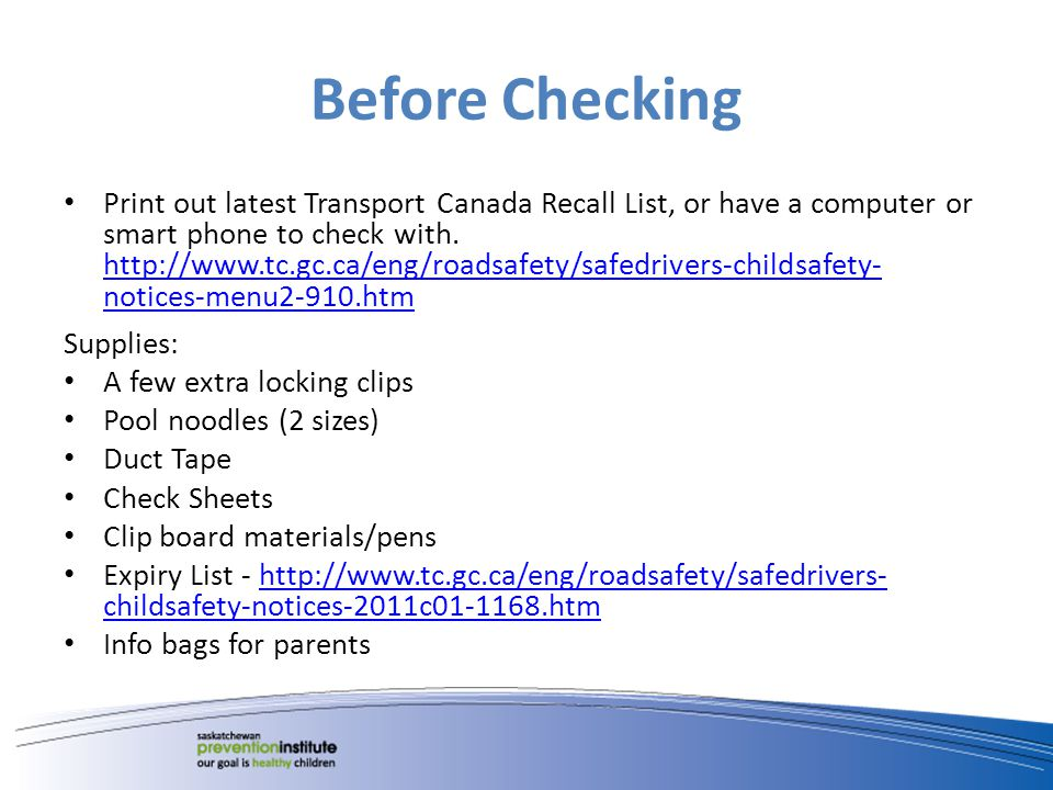 NHTSA National Highway Traffic Safety Administration is like our Transport Canada.
