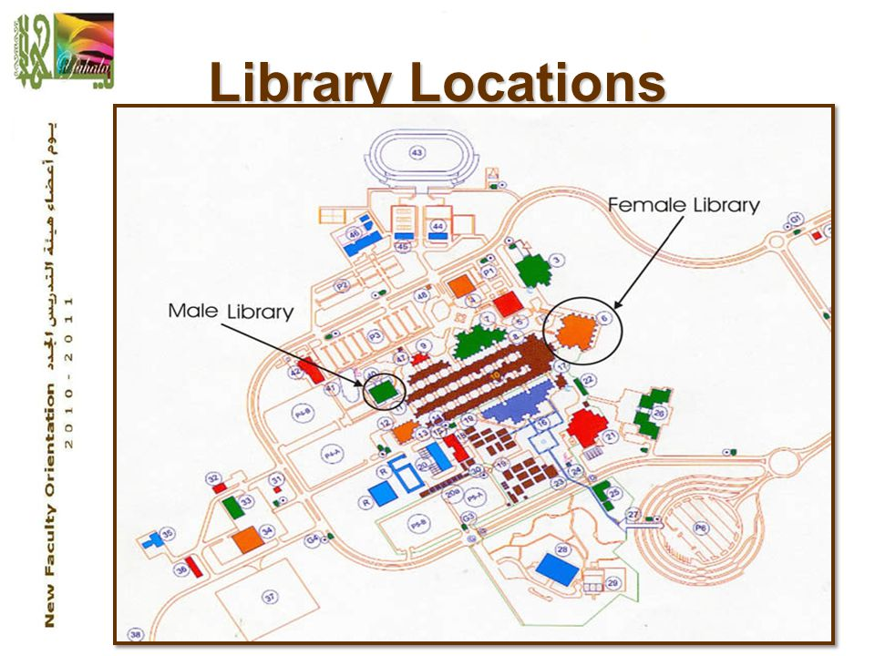 2 Library Locations