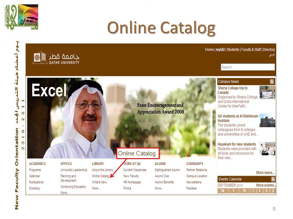 Online Catalog 8