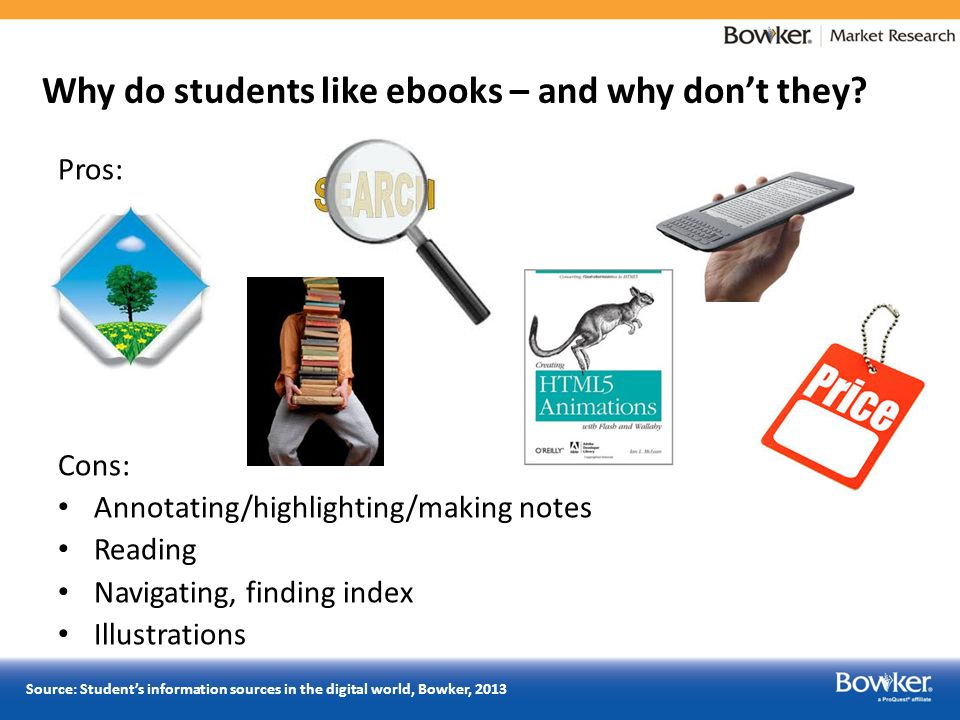 Why do students like ebooks – and why don't they.