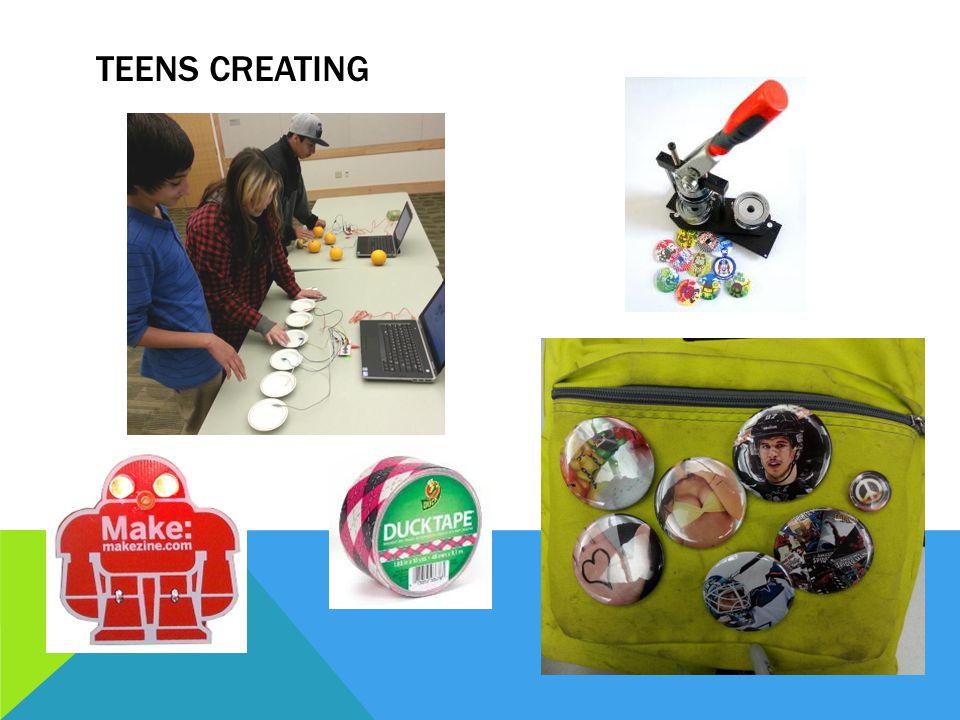 TEENS CREATING