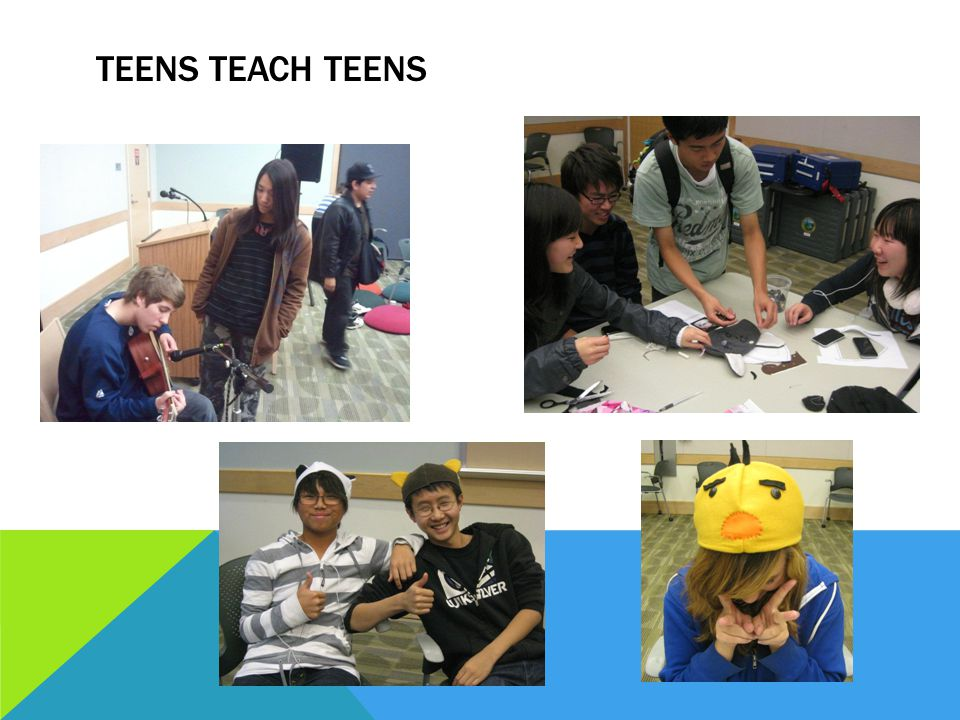 TEENS TEACH TEENS