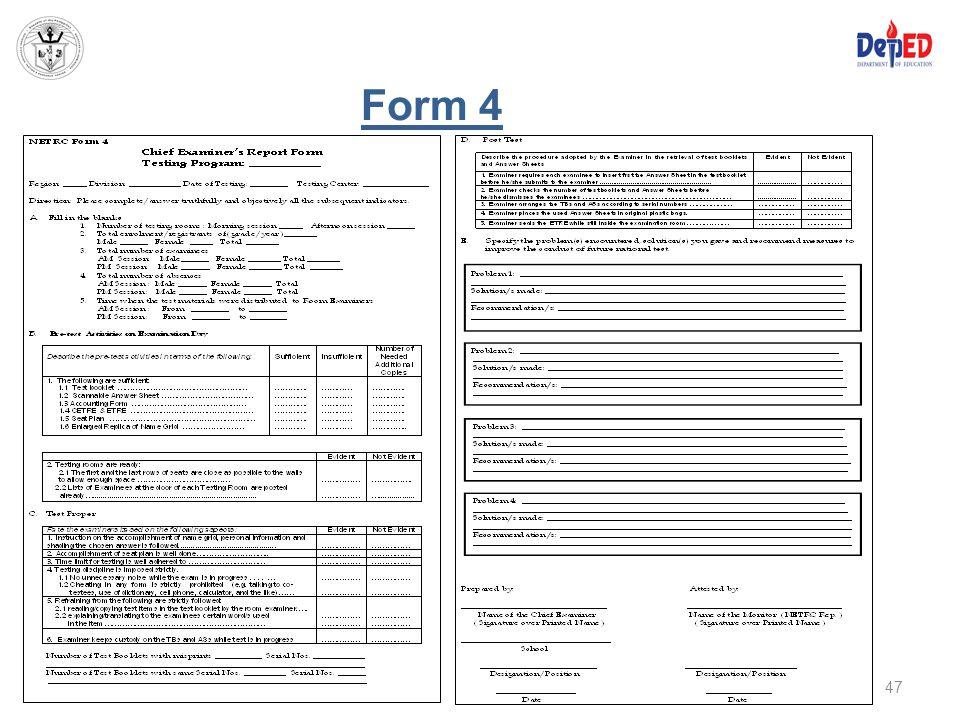 Form 4 47