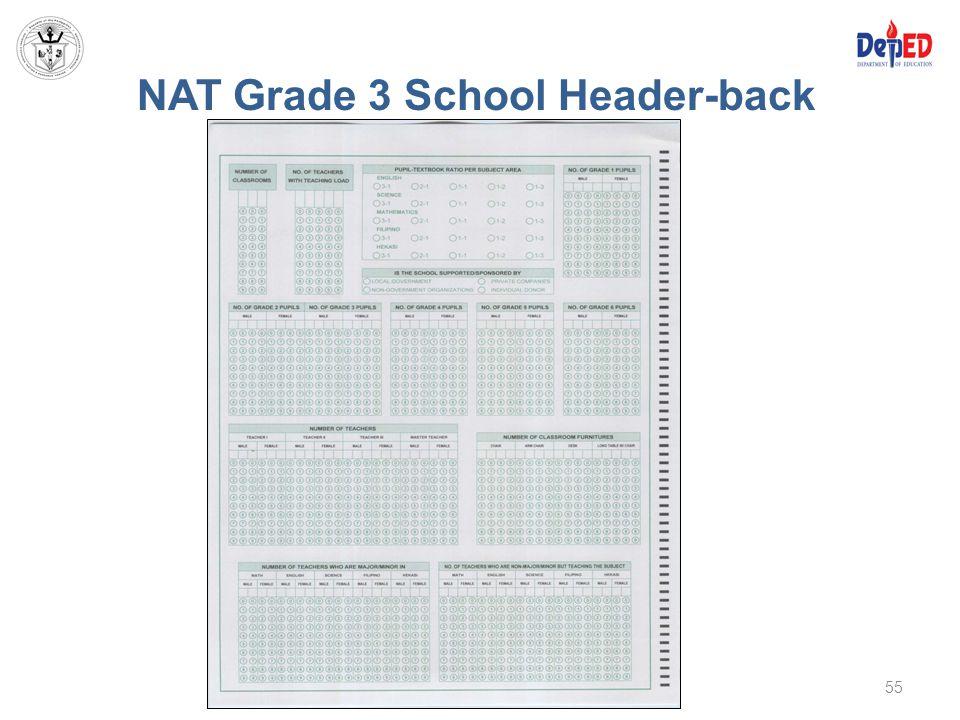 NAT Grade 3 School Header-back 55
