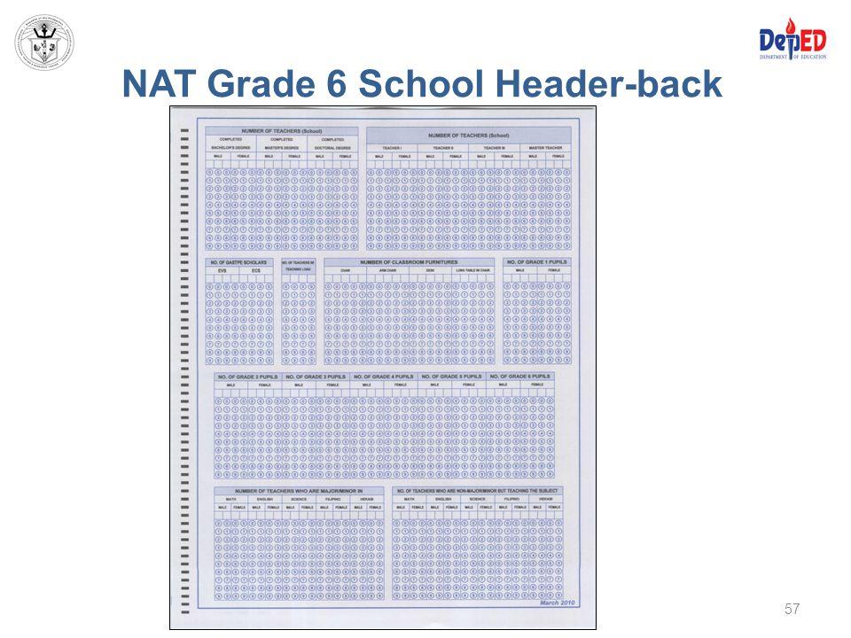 NAT Grade 6 School Header-back 57
