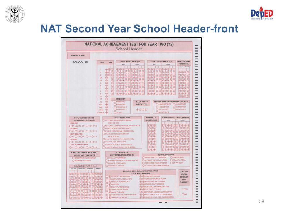 NAT Second Year School Header-front 58