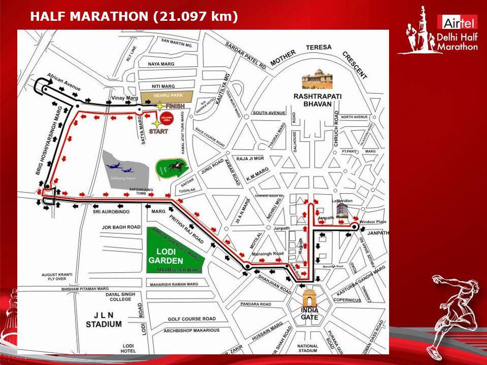 HALF MARATHON (21.097 km)