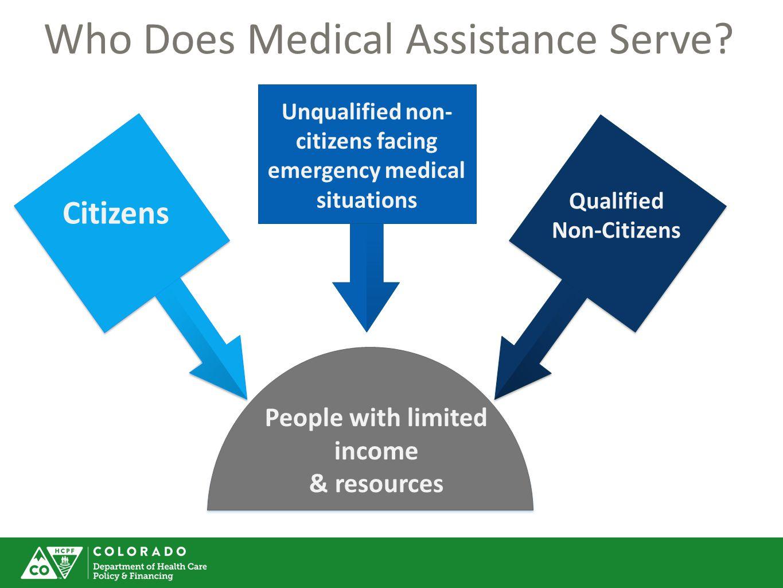 Who Does Medical Assistance Serve?
