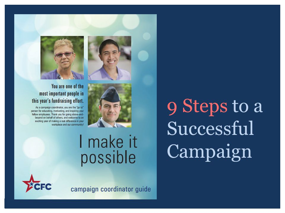 9 Steps to a Successful Campaign