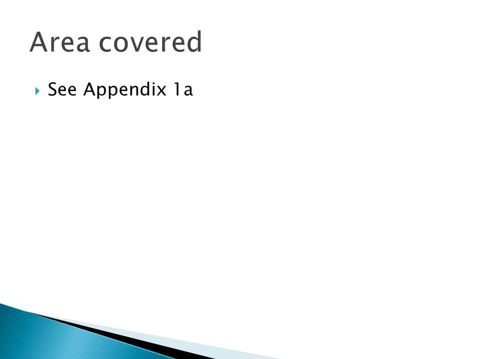  See Appendix 1a