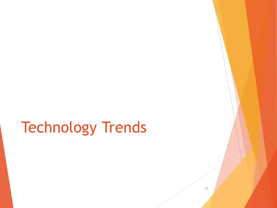 Technology Trends 17