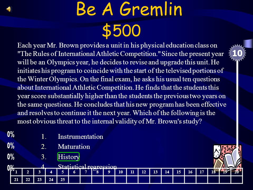 Be A Gremlin $400 Mrs. Jones is a remedial reading specialist.