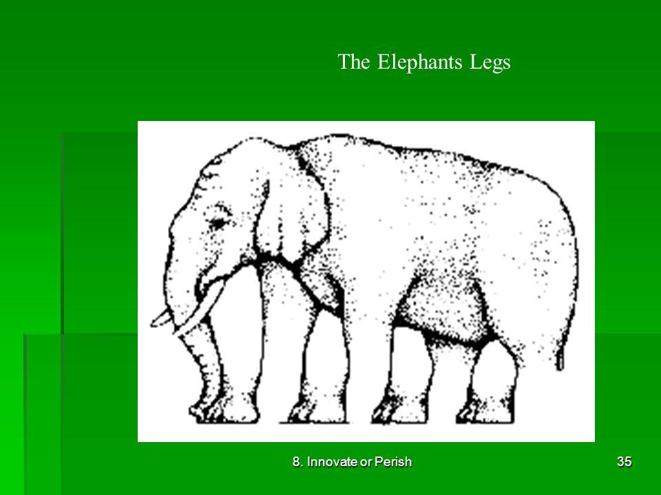 8. Innovate or Perish35 The Elephants Legs