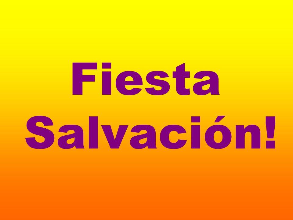 Fiesta Salvación!