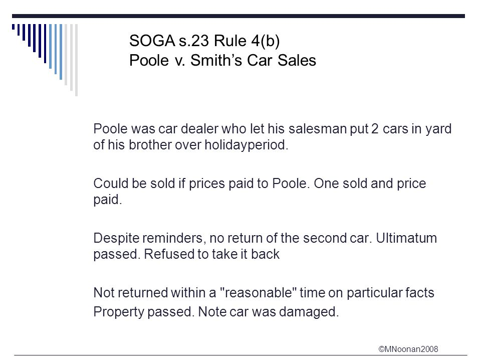 ©MNoonan2008 Poole was car dealer who let his salesman put 2 cars in yard of his brother over holidayperiod.