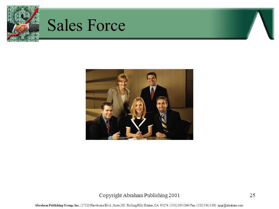 Copyright Abraham Publishing 200125 Abraham Publishing Group, Inc.