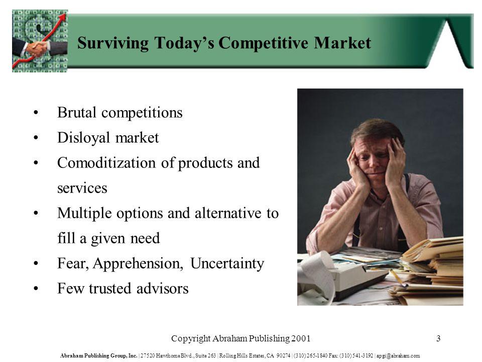 Copyright Abraham Publishing 200154 Abraham Publishing Group, Inc.