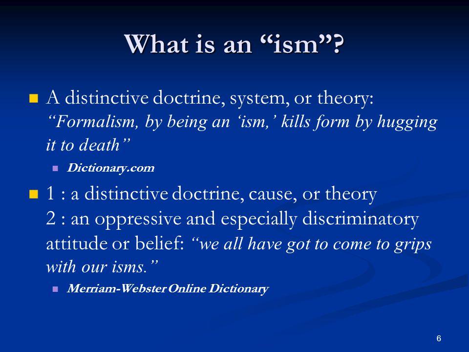 7 Denominationalism Denominationalism is the division of a religion into separate religious denominations.