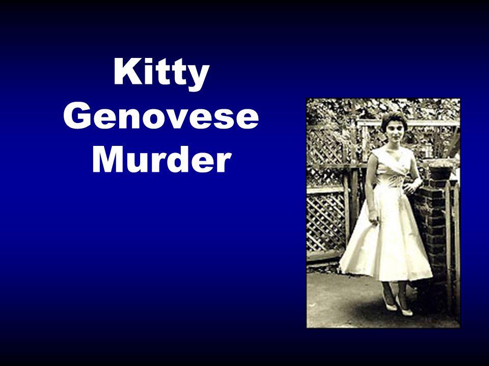 Kitty Genovese Murder