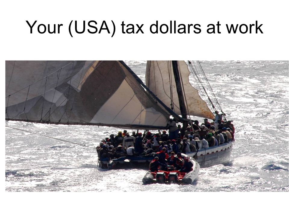 Your (USA) tax dollars at work