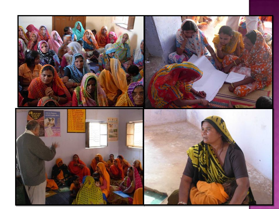  Women get informed about various provisions of NREGA (National Rural Employment Guarantee Act)  Practical exercises to understand the procedure to apply for job under NREGA are done in the seminar  Women get informed about their rights as workers in NREGA, the issues of wages and work site facilities available for them