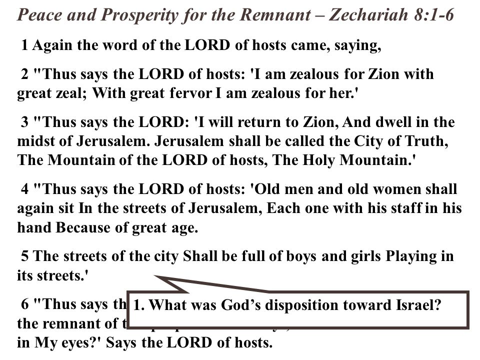 Return of the Shepherd - Zechariah 10:1-12 8 I will whistle for them and gather them, For I will redeem them; And they shall increase as they once increased.
