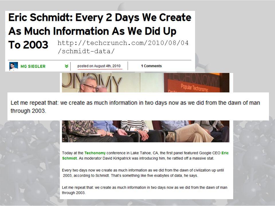 http://techcrunch.com/2010/08/04 /schmidt-data/